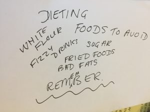Dieting foods to avoid