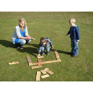 educational games giant garden dominoes