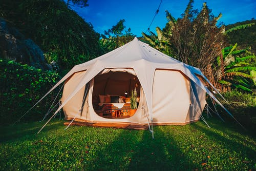 family camping holidays