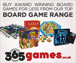 365 games, board games, video games plus lots of other games for families