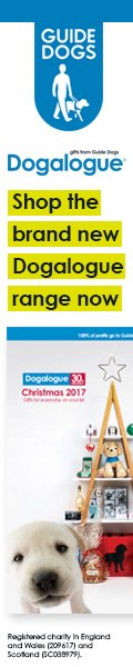 Dogalogue guide dog charity shop