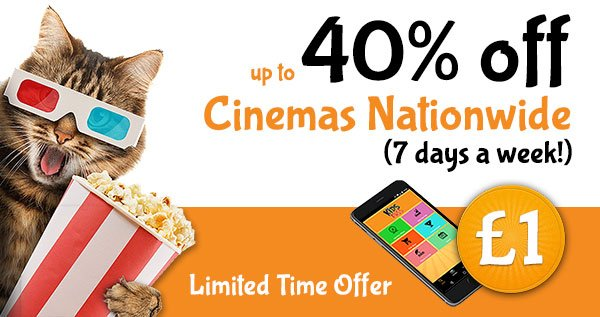 kids club discounted cinema tickets