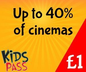 Kids Pass entry to cinemas, restaurants and attractions at discount rates