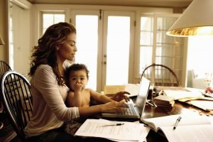 working mothers; how to enjoy child care and spend quality time with your children 3