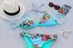 best swimming costumes for new mums - florals