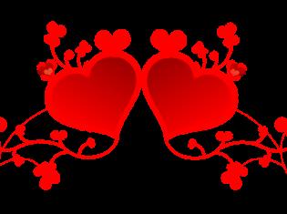 Valentines Day I wonder what St Valentine would make of it.