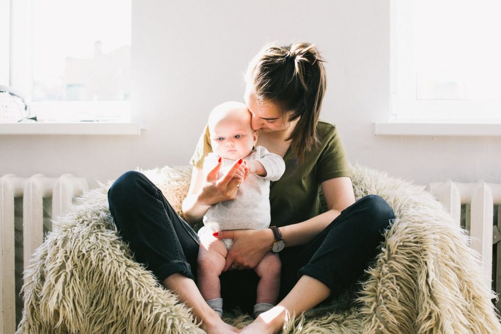 mum working from home tips time with child
