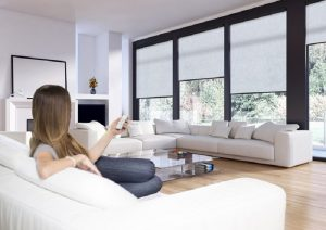 motorised roller blinds practical beautiful and versatile