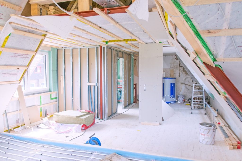 How to keeps kids safe during home renovation and construction work on your home