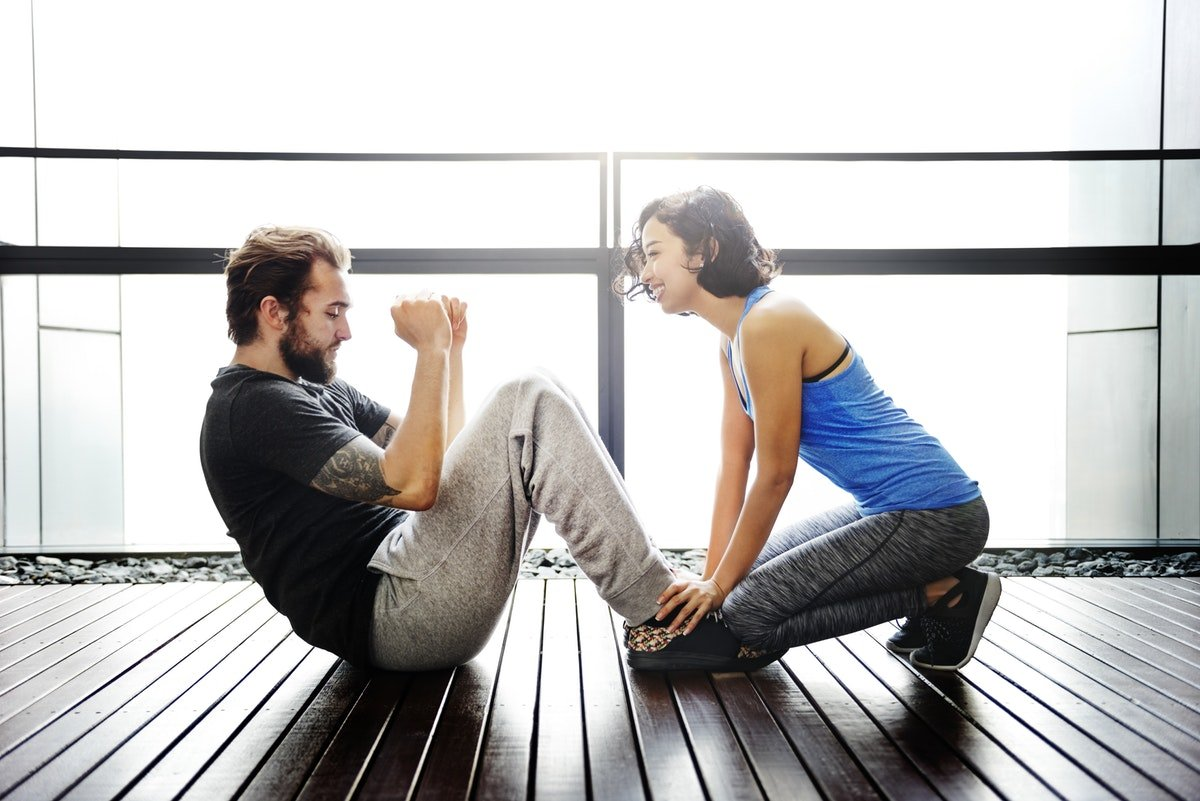 How to motivate your partner to work out