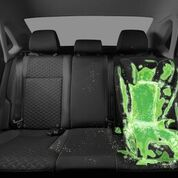 bacteria on a child car seat
