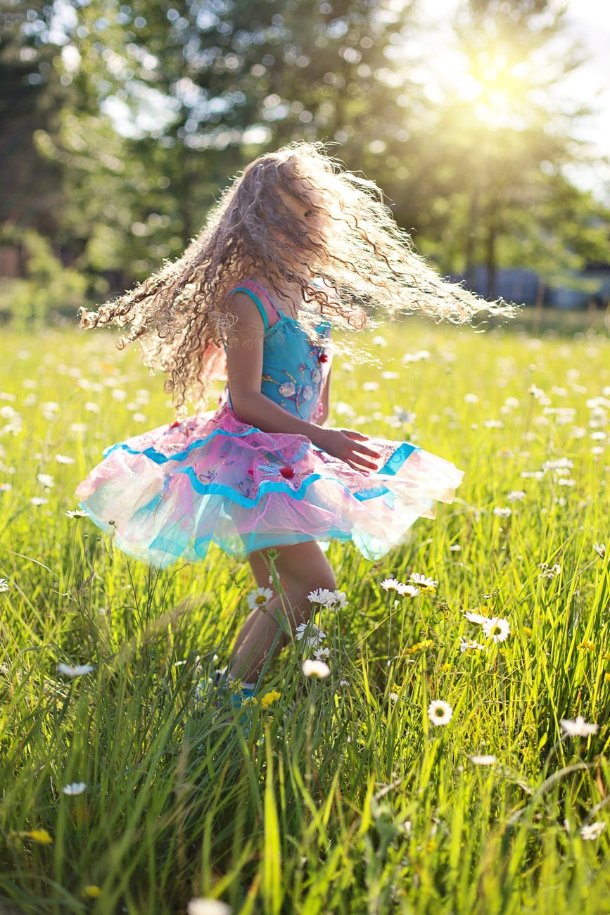 picking and choosing clothes for your little girl